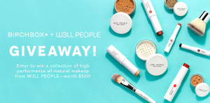 BIRCHBOX + W3LL – WIN A $500 W3LL PEOPLE MAKEUP PRODUCTS