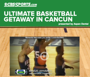 CBS Sports – Win A Trip To Cancun Challenge Men's Games Sweepstakes
