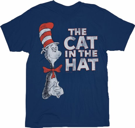 Forces of Geek – Win A Cat In The Hat T-Shirt Giveaway