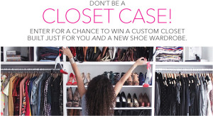 Glamour – Win $1,500 gift card from Nine West and a custom built closet makeover