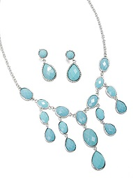 Two Classy Chics – Win Turquoise Fashion Necklace Value $22.99 givesway