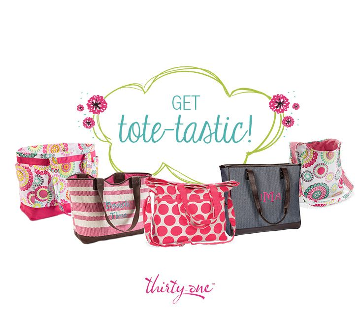 Thirty-one Gifts Win Tote Bag Pinterest Sweepstakes