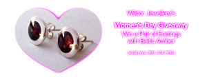 Wiktor Jewellery – Win A Pair of Earrings with Baltic Amber Giveaway