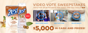 Zest – Vote To Win $5,000 Cash Giveaway