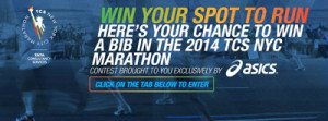 ASICS – Win official entry into the 2014 New York City Marathon Sweepstakes