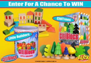 CitiBlocs – Win a CitiBlocs Little Builders & Citi Trees set