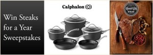 Calphalon – Win cookware set  valued at $1,386