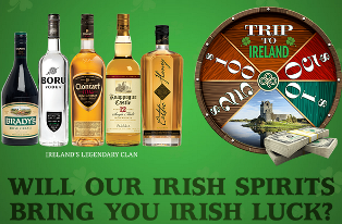 Castle Brands Irish To The Core Sweepstakes