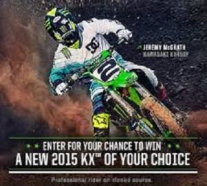 Kawasaki – Win a  2015 Kawasaki valued at $8,699