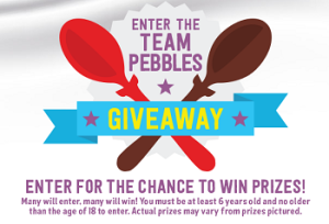 Team Pebbles – Win a 5-day trip for 4 to Orlando, Florida valued at $6,500 and a tons of great prizes by March, 2015.