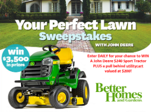 Better Home And Gardens Win A Prize Package Including A John Dee