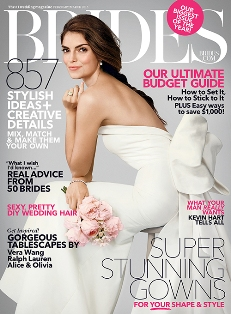 Brides Magazine – Win one  wedding gown from the David Tutera Dream Dress for Mon Cheri Collection valued at $1,900 by Feb 23, 2015 !