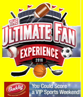 Buddig – Win a trip for two to a Sporting event of winner's choice valued at $5,000 by Feb 28, 2015