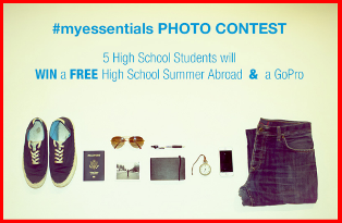 CIEE – Win a FREE high school Summer Abroad and a GoPro valued at $5,000 by March 11, 2015