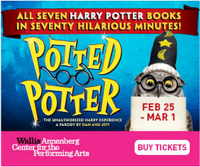 Campus Circle – Win a pair of tickets to Potted Potter on March 1st in L.A.