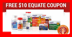 Doctoroz – The first 1,000 eligible participants will each be awarded one coupon for $10 off any Equate® products at Wal-Mart Stores, Inc. QUICKLY !