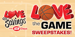 IGA – Win a 60-inch flat screen TV and IGA groceries in the form of $150 worth of IGA gift certificates !