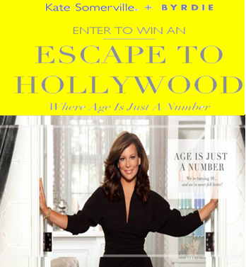 Kate Somerville – Win the ultimate trip for 2 to Hollywood to be pampered like a Star by March 5, 2015!