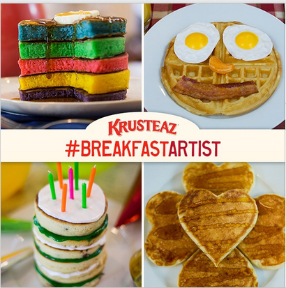Krusteaz – Win $100 gift card plus 52 Krusteaz product coupons for  WEEKLY prizes until March 16, 2015!