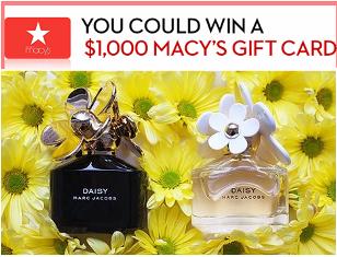 Macy's – Win $1,000 Macy's gift card on March , 2015