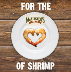 McAlister's Deli – Win a trip for 2 to New Orleans, Louisiana or $25 McAlister's® Deli gift card for DAILY !
