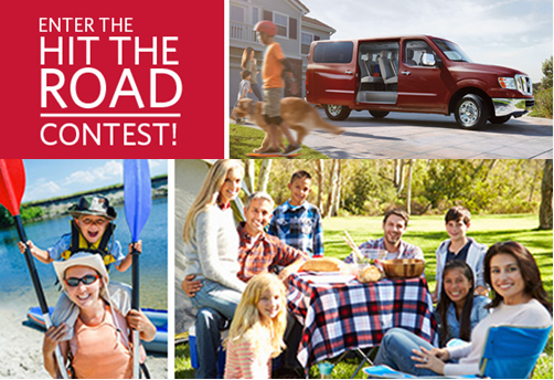 Meredith – Win a 24 month lease of a 2015 Nissan NV® SL V8, including the technology package of $40,655, and  a $3,000 check by March 9, 2015!