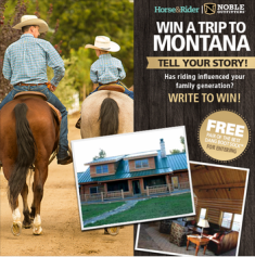 Noble Outfitters – Win a 4-day trip for 8 to the Noble Outfitters Montana Lodge valued at $10,000 on March 23, 2015 !