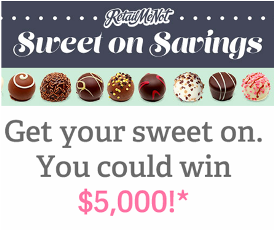 RetailMeNot – Win  the $5,000 Grand Prize or up to a $250 Amazon eGift code! INSTANTLY