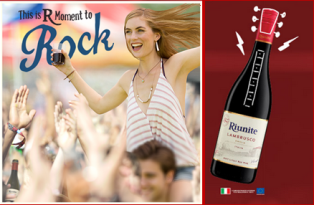 """Riunite – Win a trip for 2 for a Live Nation concert named """"This is R Moment to Rock"""" by April 30, 2015."""