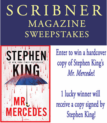 Scribner Books – Win a signed copy of Stephen King's Revival and 9 winners with a copy of Stephen King's Mr. Revival by Feb 27, 2015!