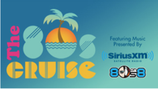 SiriusXM –  Win a trip for 2 to Fort Lauderdale, FL on The 80s Cruise 2016 , featuring music presented by SiriusXM's '80s on 8