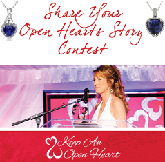 Sterling Jewelers – Win an amazing trip to meet Jane Seymour at the 5th annual Open Hearts Foundation Gala in Malibu, CA and more prizes with  JEWELRY  !