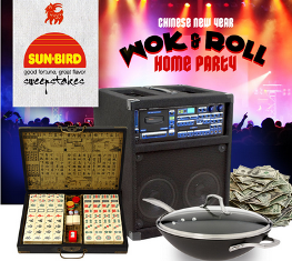 Sun Bird Seasoning – Win the Wok & Roll Home Party Package valued at $2,000 by March 13, 2015