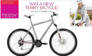 Terry Precision Cycling – Win a Susan B Hybrid bicycle valued at  $900 by March 18, 2015!