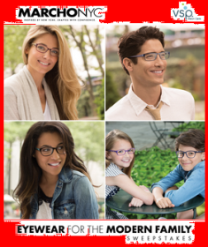 VSP Version Care – Win up to 4 pairs of MarchoNYC optical frames and a $250 GAP gift card by Feb 20, 2015