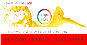 Ace Hardware – Win a $10,000 paint makeover and daily $50 Ace gift cards!