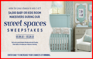 Bassett Furniture – Win a $4,000 shopping spree to a Bassett Home Furnishings store by March 29, 2015!