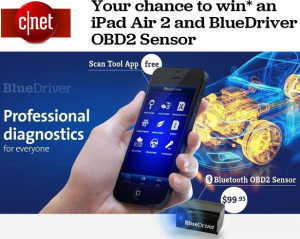 CNET – Win a grand-prize bundle is worth over $1,000 and 9 runners-up will score Lemur's cool BlueDriver car scanner!