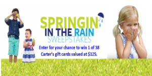 Carter's -Win 1 of 38 Carter's Gift Card valued at $125!