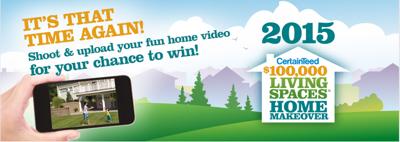 Certain teed win a 100 000 prize package for your home for Win a home contest