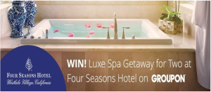 Groupon – Win a Luxe Spa Getaway for Two at the Four Seasons Hotel Westlake Village valued at $3,992!