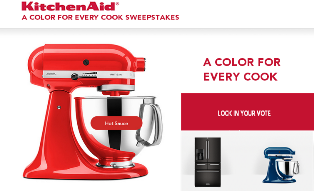 KitchenAid – Win a Full Depth Multi Door Freestanding Refrigerator and an Tilt-Head Stand Mixer valued at $4,460!