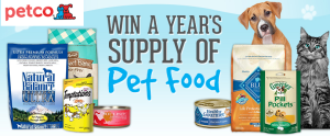 Pet Freebies – Win a $200 Gift Card from Petco!