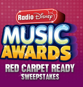 Radio Disney – Win a trip to the RDMAs and get red carpet ready with $500 to shop for your RDMA outfit.