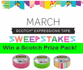 Scotch – Win 1 of 30 Scotch Prize Packs valued at $60!