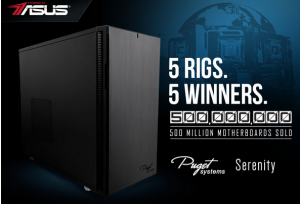 ASUS – Win one Custom-built PC valued at $2,954!