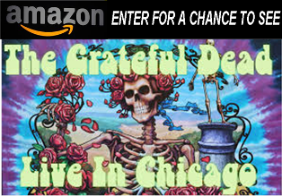 Amazon.com – Win A trip for 2 to Chicago to attend a Grateful Dead concert at Soldier Field in Chicago, IL by May 18, 2015!