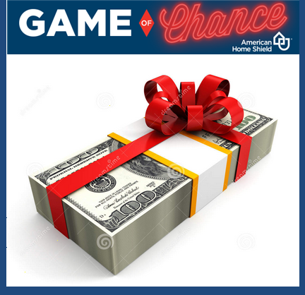 American Home Shield – Win $10,000 cash and $11,300 in daily and weekly cash prizes by July 31, 2015!