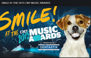 CMT – Win a trip for 2 and your dog to attend the 2015 CMT Music Awards in Nashville, TN by May 31, 2015!