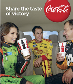Coca Cola – Win A $5,600 trip package for 2 to the NASCAR Championship in Homestead, FL and 200 first prizes of a Coca-Cola Racing cinchpack by June 30, 2015 – INSTANTLY!